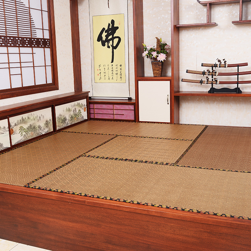 Li hao brown core tatami mat tatami mattress custom made to order thick cushion futon mats bedroom