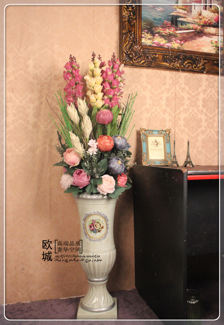 China artificial floral supplies china artificial floral supplies get quotations lily of the valley jane european artificial flowers artificial flowers silk flower floral floor living room mightylinksfo