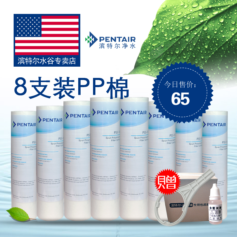 [Limited edition of 200 sets] pentair everpure water filter pp cotton filter cartridge 10 before purchase wicks 8 Free shipping
