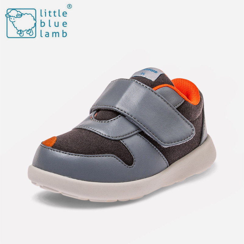 Little blue sheep 2016 autumn new children's shoes boys and girls slip breathable casual shoes sports tourism running shoes