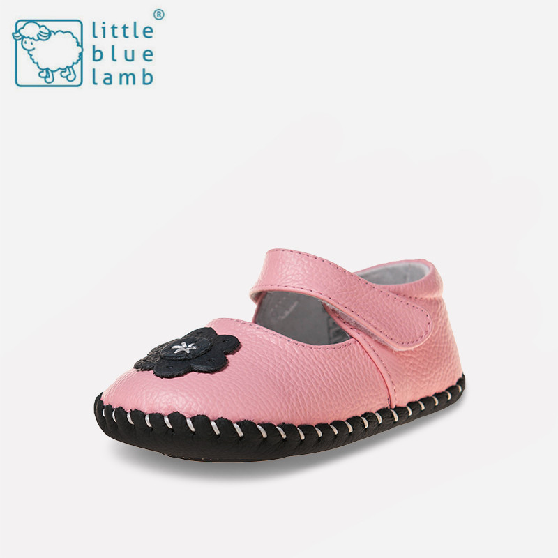Little blue sheep shoes 0-1-year-old 2016 autumn female baby shoes soft bottom princess shoes baby shoes toddler shoes infant shoes