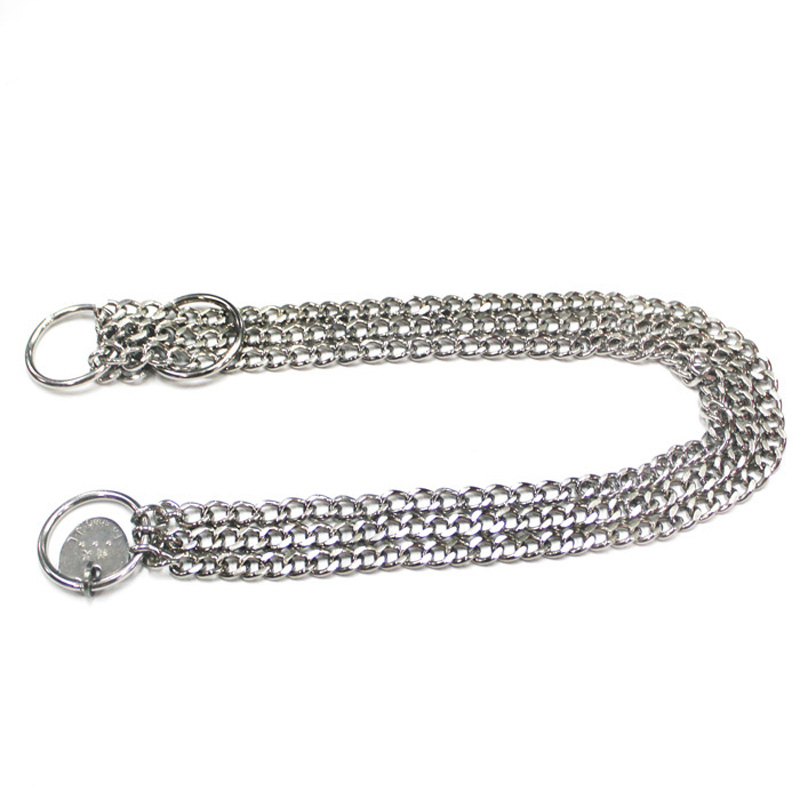 Little more than stainless steel exhaust chain pet dog chain p chain p chain pet collar game snake chain necklace