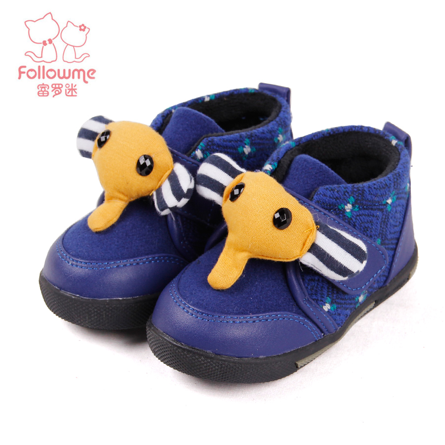 Lo fu fan of children boys winter baby shoes toddler shoes
