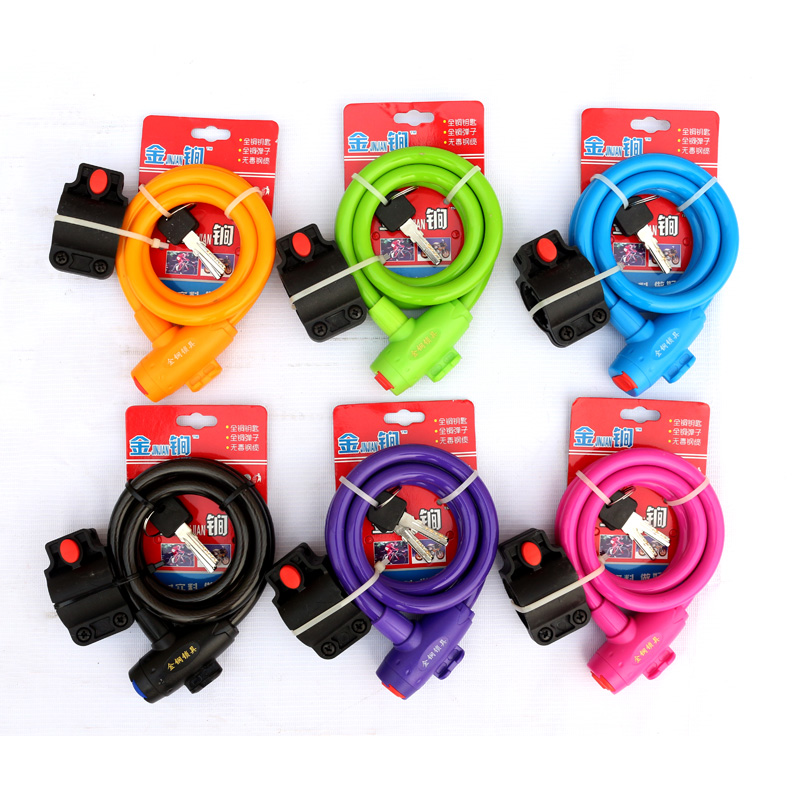 Long di bicycle chain lock wire lock security cable lock bike lock bike lock electric lock bicycle accessories free shipping