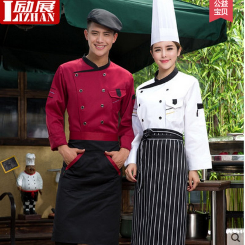 Long sleeve short sleeve chef service hotel chef service hotel chef clothing chef uniforms kitchen chef uniforms for men and women