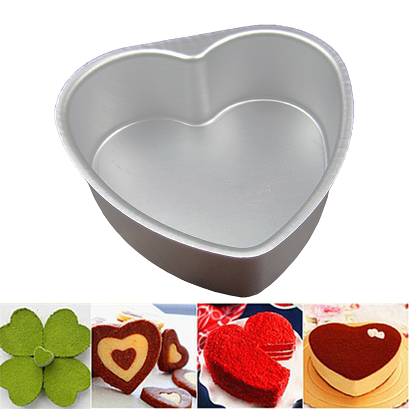 Love baking mold shape events live bottom inch 3/5/6/8 inch/10 Cunxin shaped cake mold cake mold