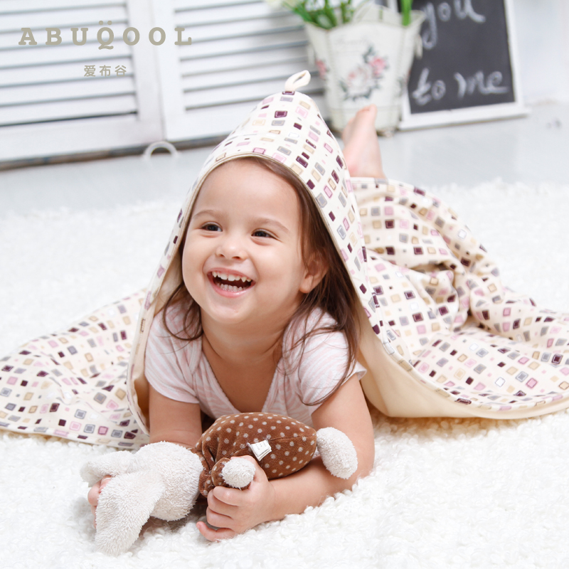 Love cuckoo baby anion newborn hold is coated newborn baby blankets super soft spring and autumn cotton