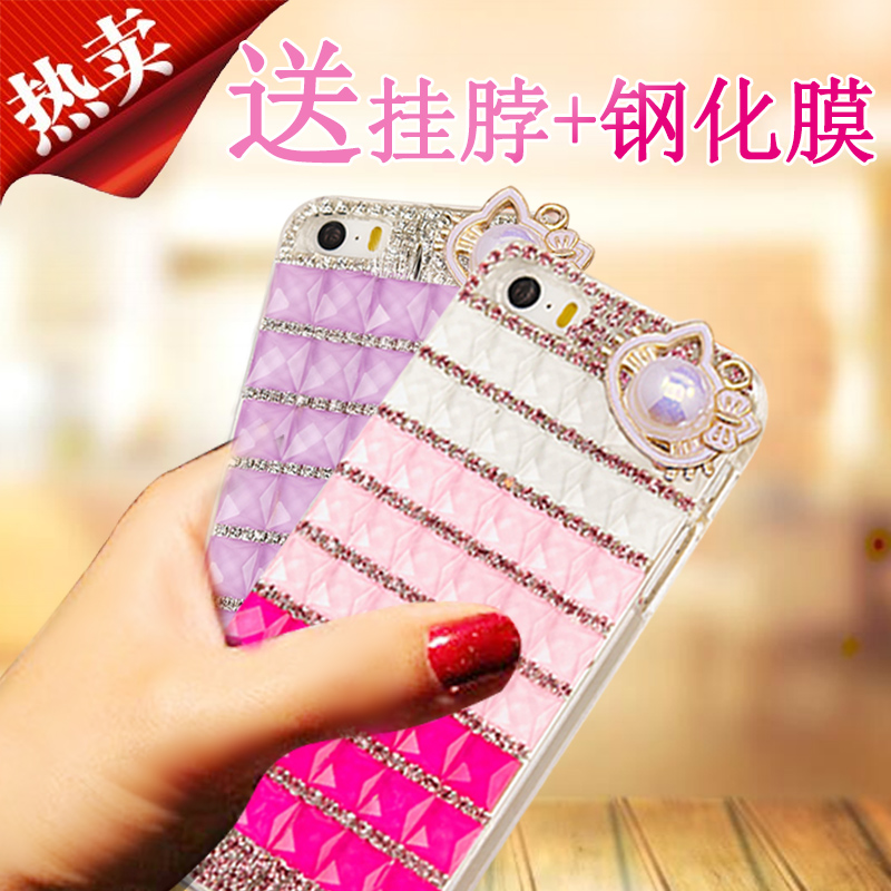 Lovebirds Desire516 rhinestone cell phone sets htc 316 phone shell mobile phone sets cartoon influx of women's halter chain
