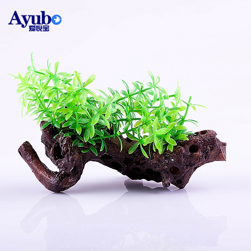 Lovejoy daffs bao aquarium plants aquarium simulation simulation driftwood grass aquarium fish tank decorative plants aquarium simulation landscaping ornaments