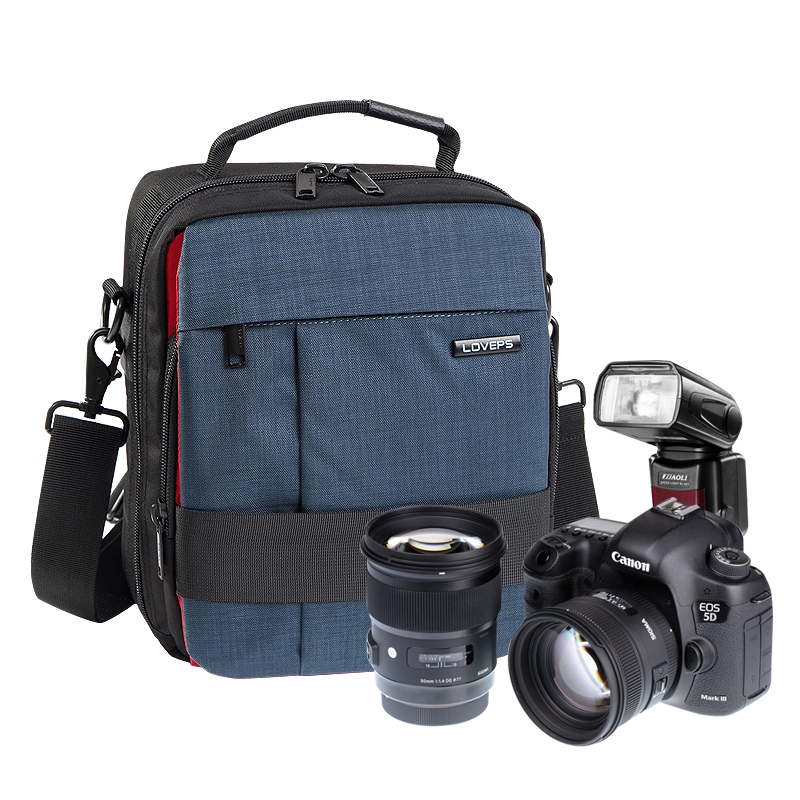 Loveps step professional slr camera canon nikon professional camera bag shoulder camera bag waterproof