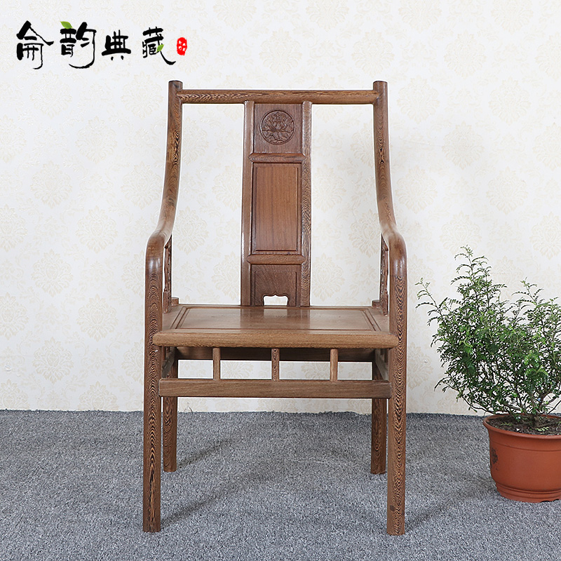 Lun yun collection of ming and qing classical mahogany wood furniture chinese tea table tea table leisure table wenge wood chair lounge chair