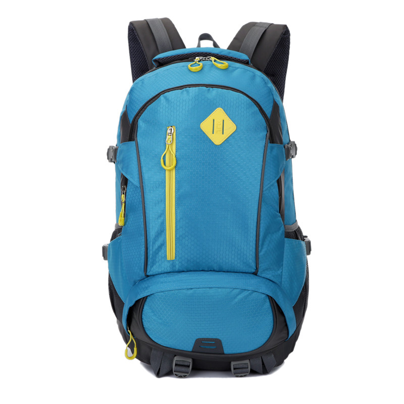 Luoç¾æ°outdoor sports bag large capacity mountaineering lightweight shoulder bag schoolbag male high school students bag female bag