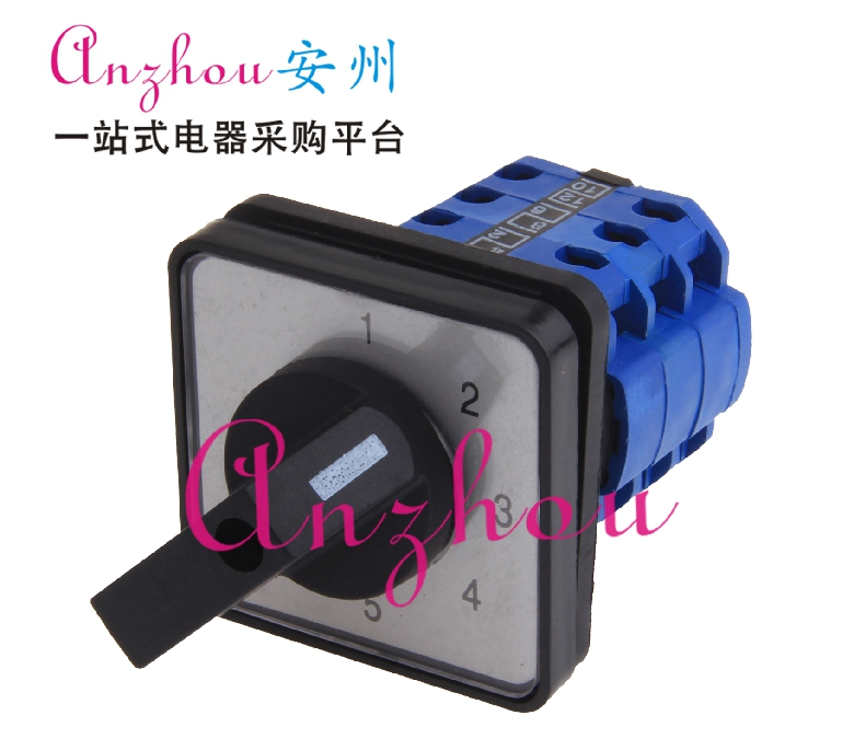LW8D-10//3 3 Position Rotary Cam Universal Changeover Switch