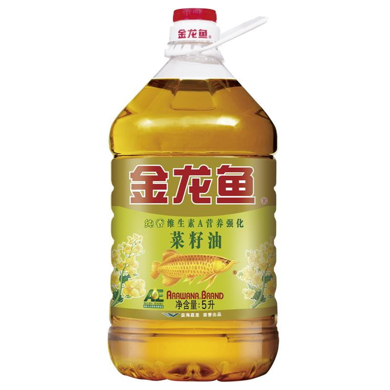 [Lynx supermarket] arowana ae pure incense rapeseed oil 5l/barrel edible oil drops of oil incense
