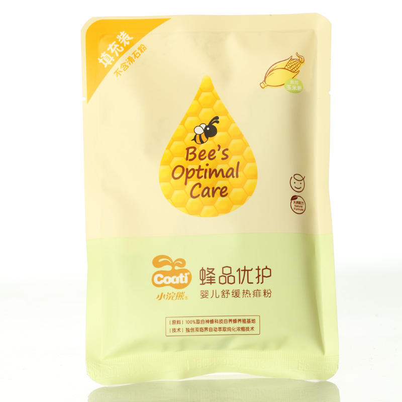 [Lynx supermarket] coati/small raccoon baby prickly heat powder baby corn flour remove rush anti eczema 80 G