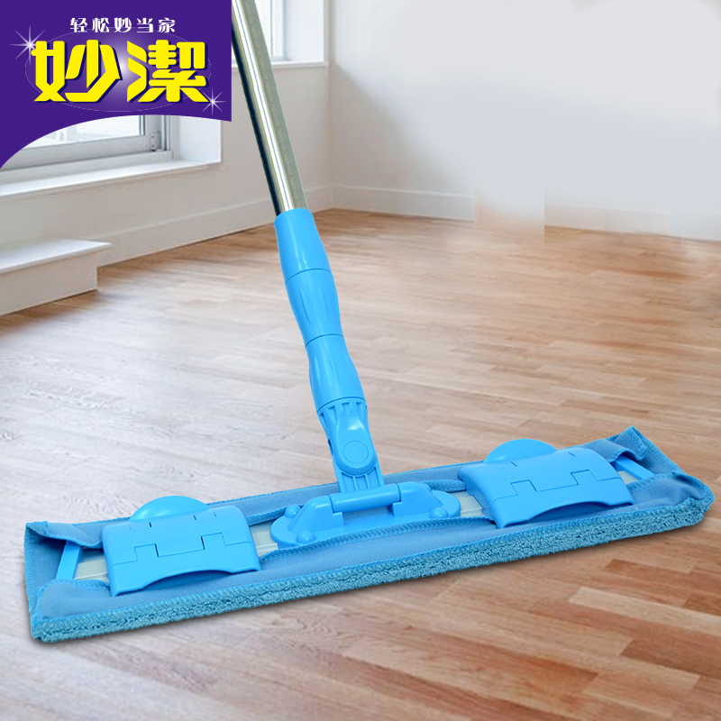 [Lynx supermarket] miao jie versatile clip butuo tension spring mop efficient clean convenient and durable