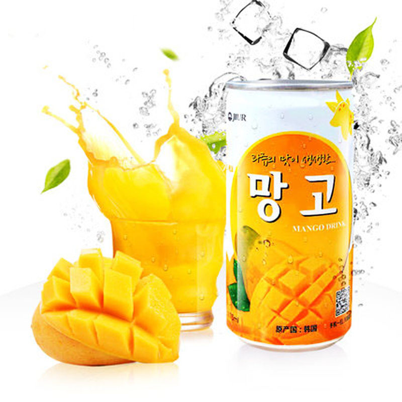 [Lynx supermarket] south korean imports of sweet mango juice fruit juice drinks 175 ml/listen