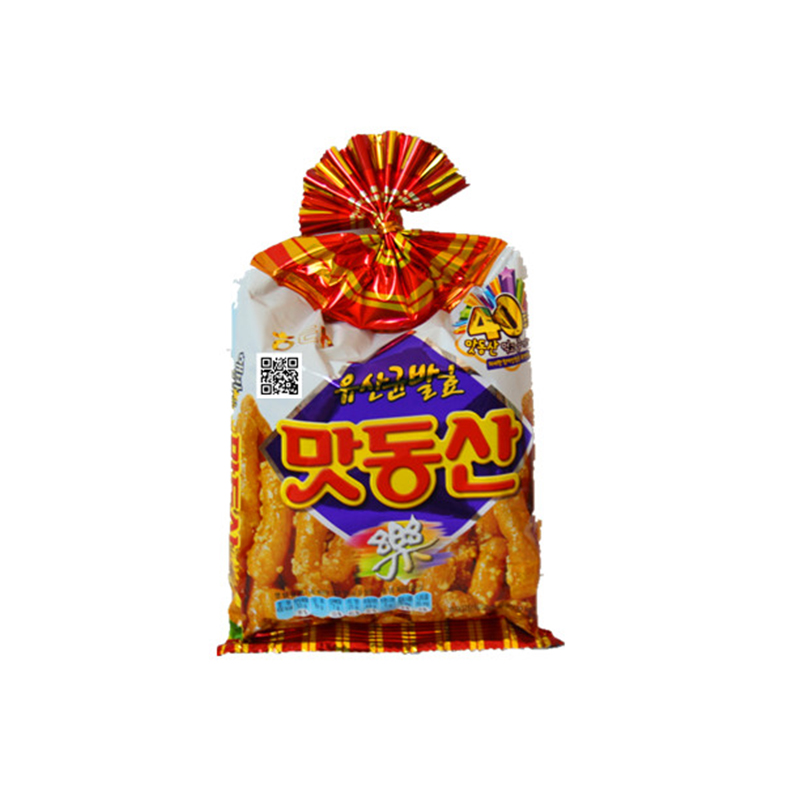 [Lynx supermarket] south korean imports zero food sea too glutinous rice honey peanut snack crackers 85g %