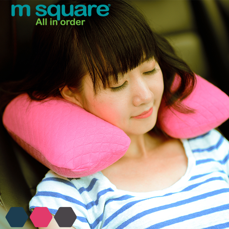 M square travel outdoor portable inflatable pillow airplane pillow u neck pillow sleep pillow washable foldable