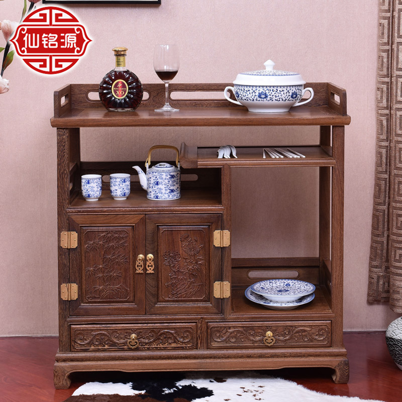 Mahogany furniture wenge classical chinese ming and qing furniture mahogany sideboard cabinet wood lockers bistec