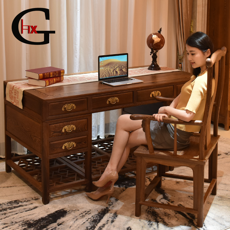 Mahogany furniture wenge wood desk net archaized wenge wood desk boss desk desk desk desk supervisor