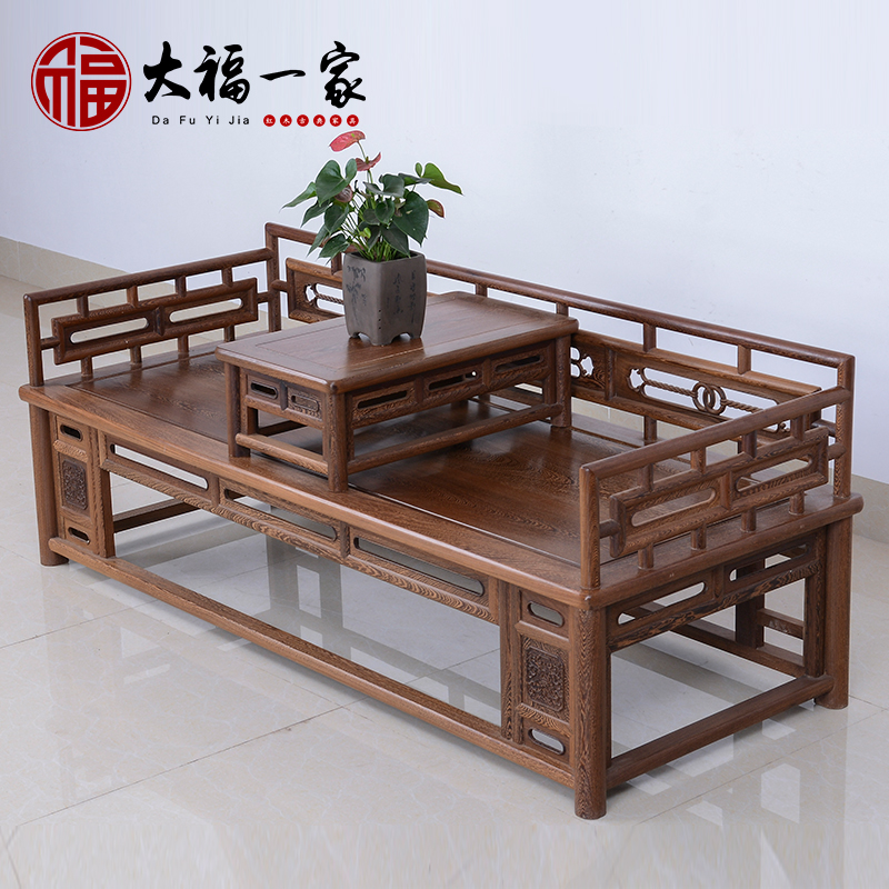 Mahogany furniture wenge wood ming xi hin court tltle imitation of ancient chinese wood coffee table small coffee table couch bed combination