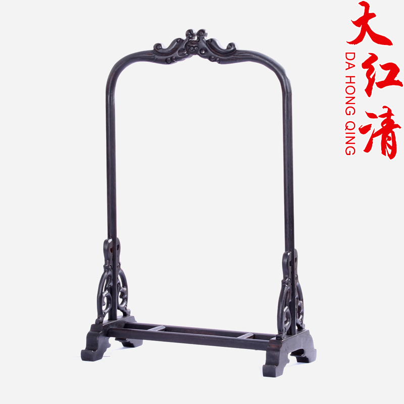 Mahogany hanging jade jade hanging rack gantry rosewood jade jade jewelry jewelry rack shelf decorative frame decorative wall shelf
