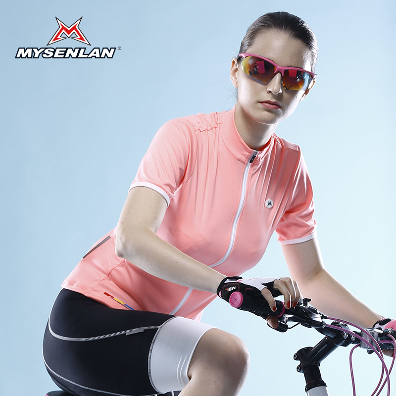 Mai senlan new summer ms. bike mountain bike clothes jersey short sleeve coat shangpin