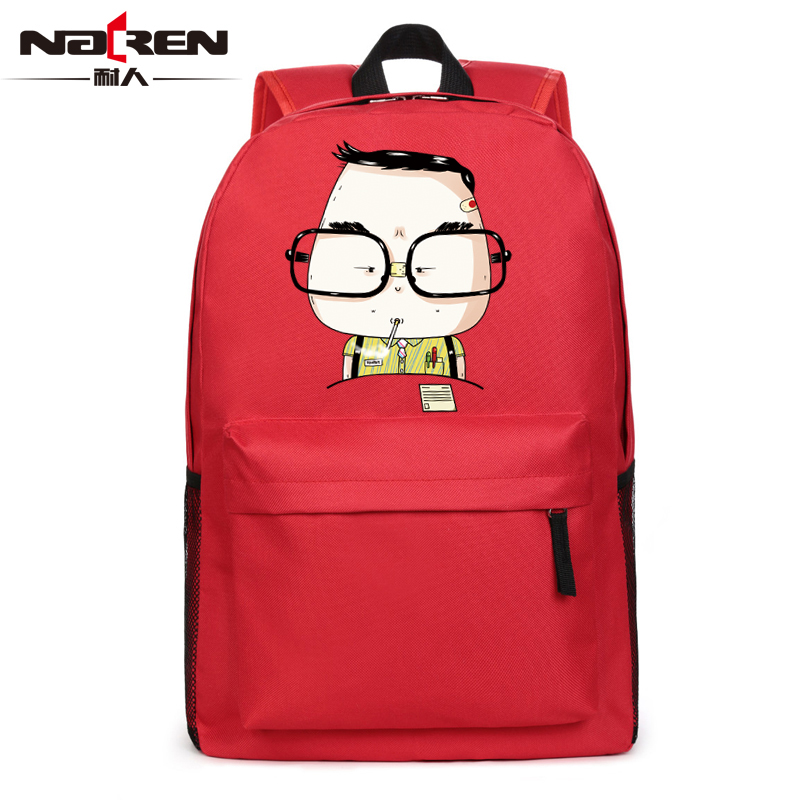 Get Quotations · Male and female high school students backpack schoolbag bag  computer bag backpack schoolbag mooning anime bag e921ff8a26496