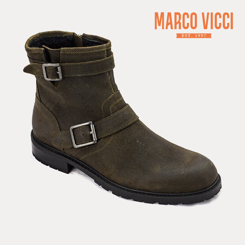 Marco vicci everyday casual winter new cow suede boots cotton boots wool inside fashion V1295