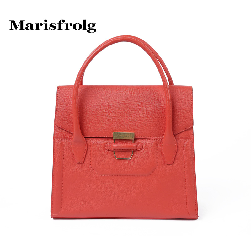 Marisfrolg masifeier classic minimalist fashion handbag bag counter genuine summer new handbag