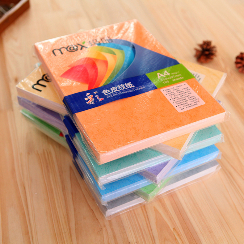 Mary a4 color sticks paper sticks paper 160g copy paper copy paper clouds cover paper textured paper 100 sheets of paper art paper