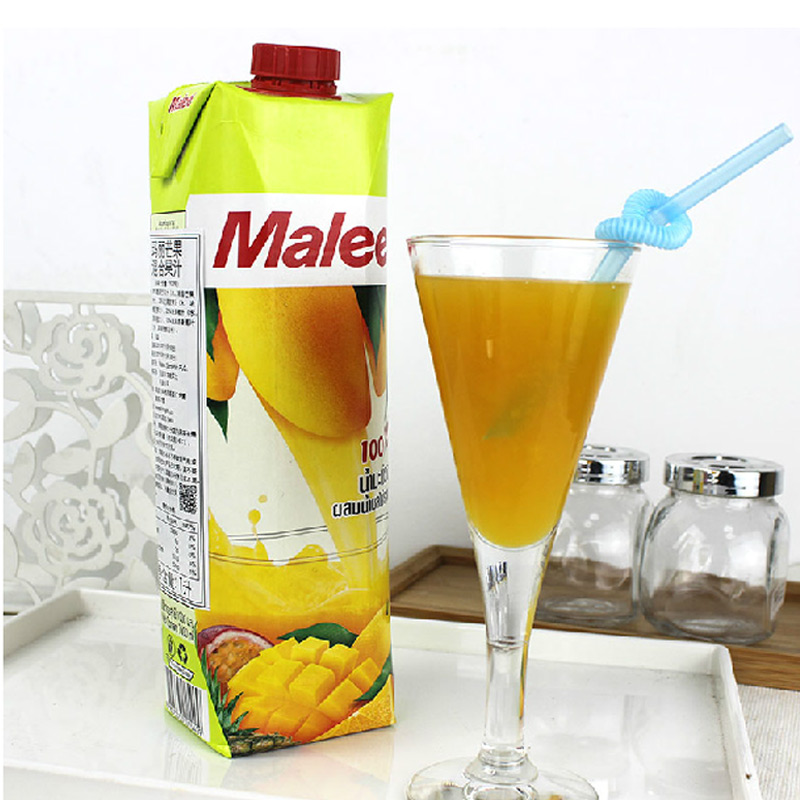 Mary malee juice mango juice mixed 1l thailand imported drinks