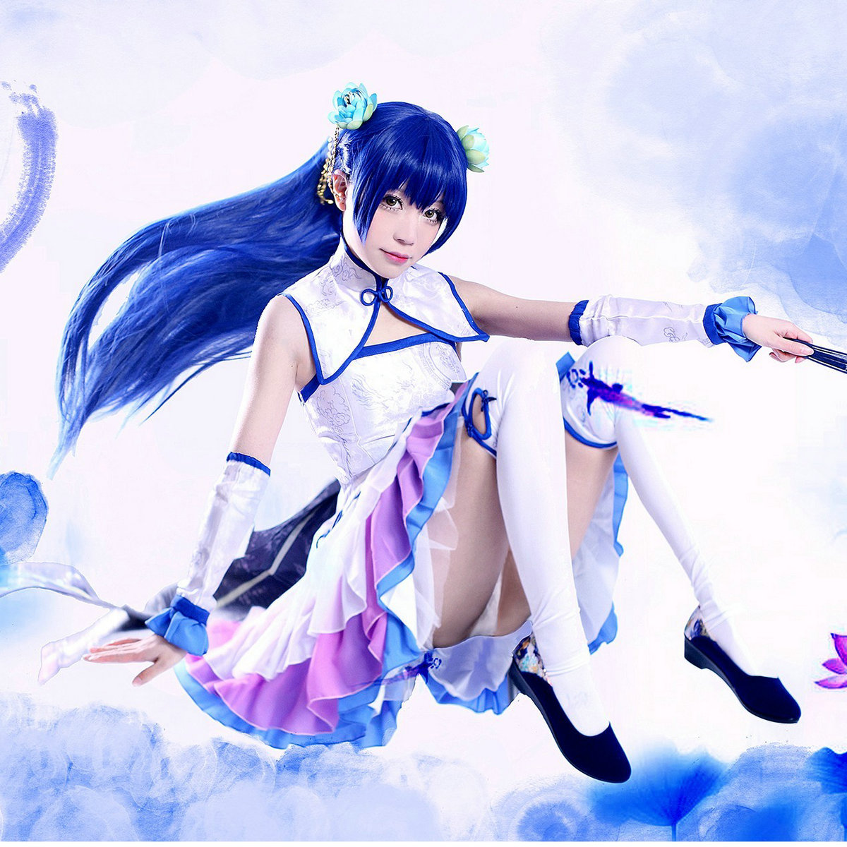 Masters lovelive! lotus love live sonoda sea cos clothing qipaos special spot