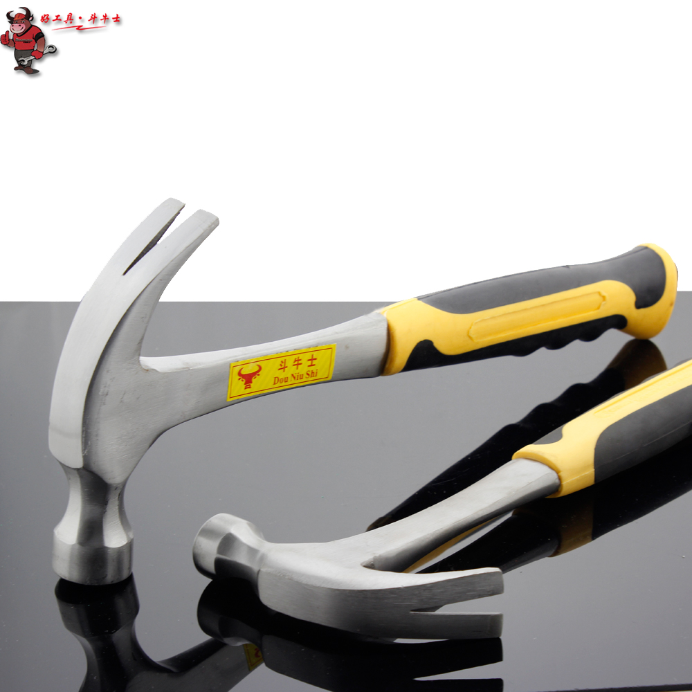 Matador tool piece steel handle claw hammer claw hammer hammer hammer iron nail from the nail from the nail claw type hammer