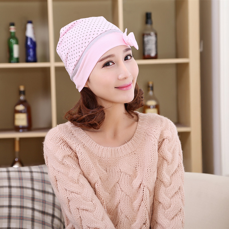 Maternal hat cap month of autumn and winter maternity postpartum confinement hat scarf spring and autumn postpartum month cap hat autumn