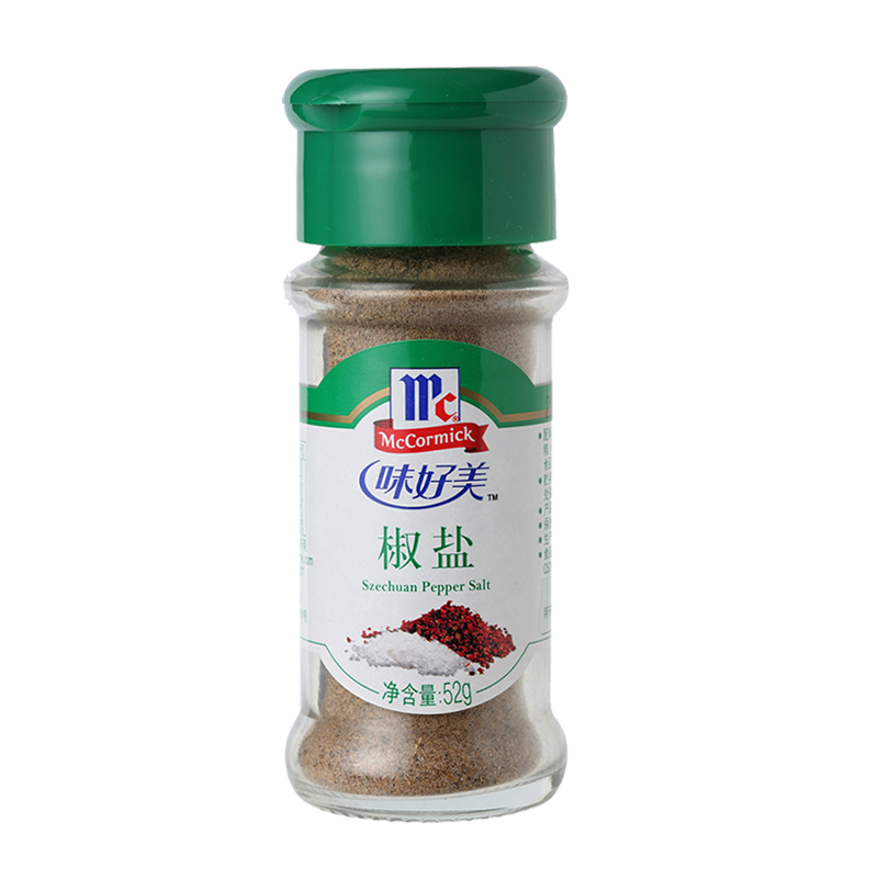 Mccormick salt and pepper powder seasoning with salt and pepper fried bacon feed material seasoning family kitchen powder raw bottled 52g