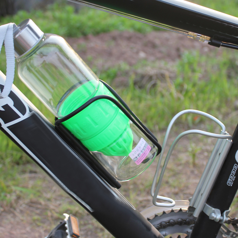 Mcnair cool aluminum mountain bike water bottle holder bottle holder bicycle accessories bicycle riding bicycle water cup holder cup holder