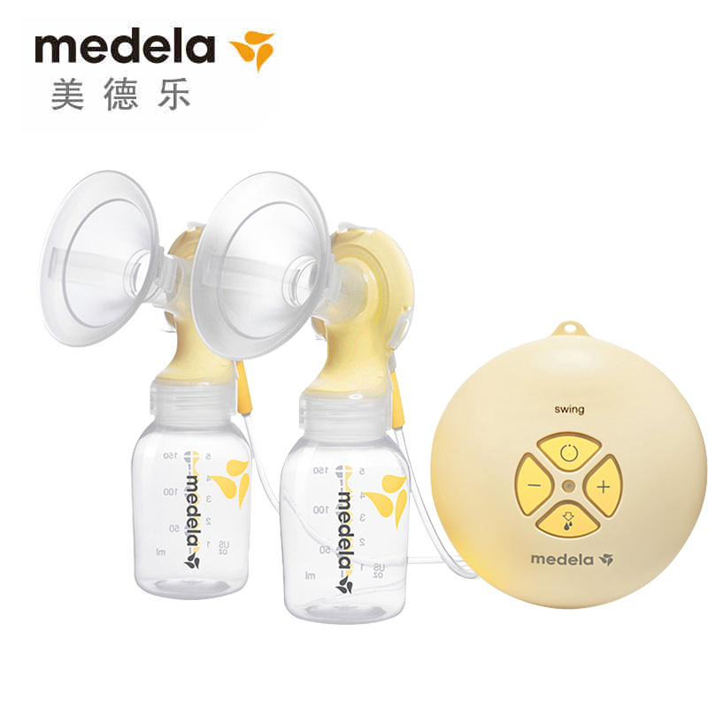 Medela wire rhyme wing bilateral bilateral electric breast pump maternal milking big suction breast pump switzerland