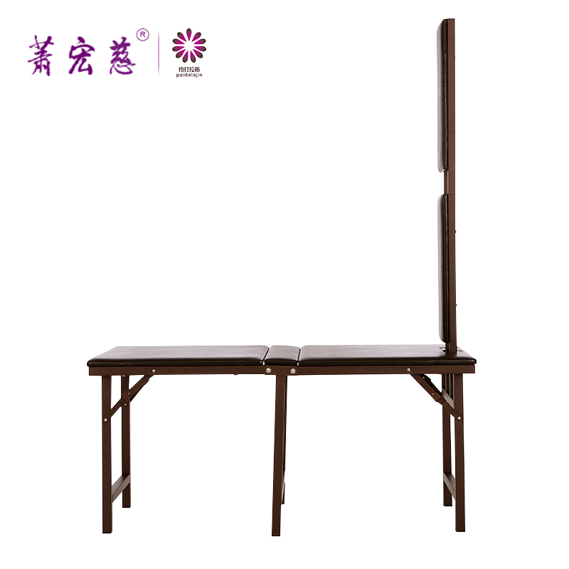 Medical line world free shipping folding stool stretch metal and wood folding stool stool genuine health museum dedicated For