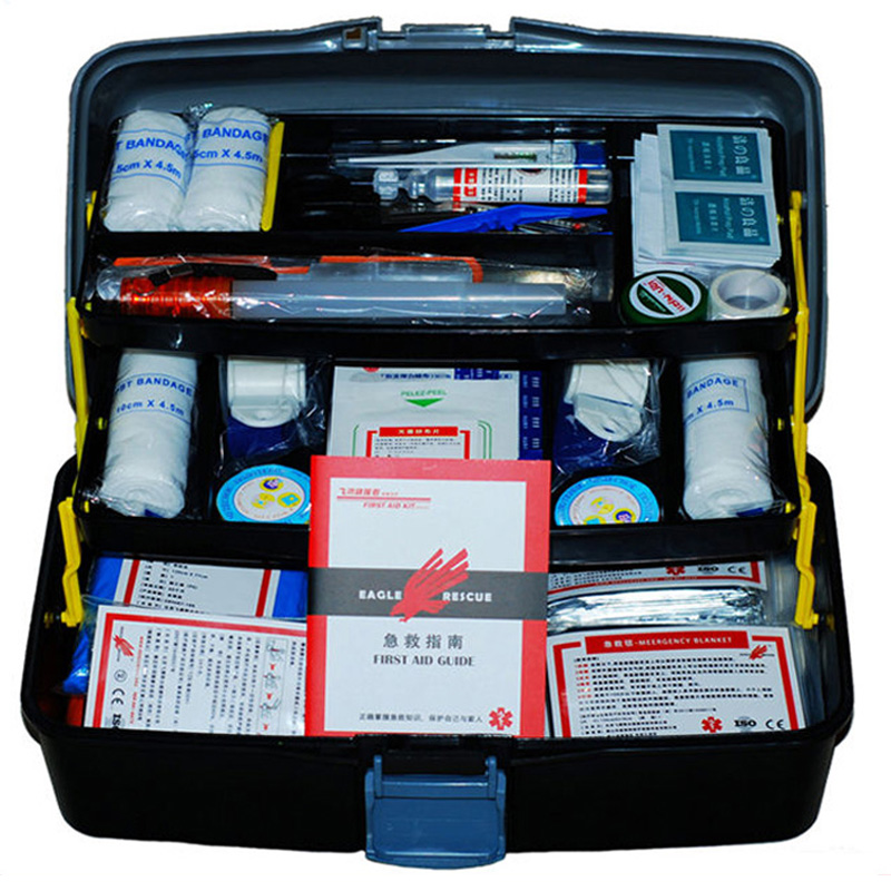 Medical travel first aid kit car first aid kit first aid kit earthquake emergency kits family home outdoor rescue rescue package kit