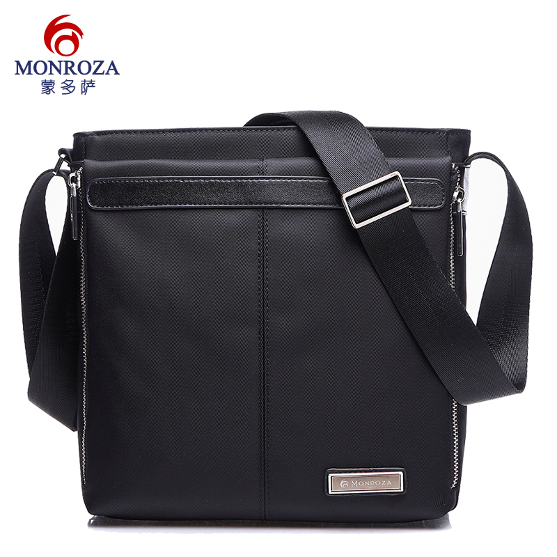 Meng duosa man bag shoulder bag man bag messenger bag men korean version of casual oxford cloth bag canvas bag men and women backpack