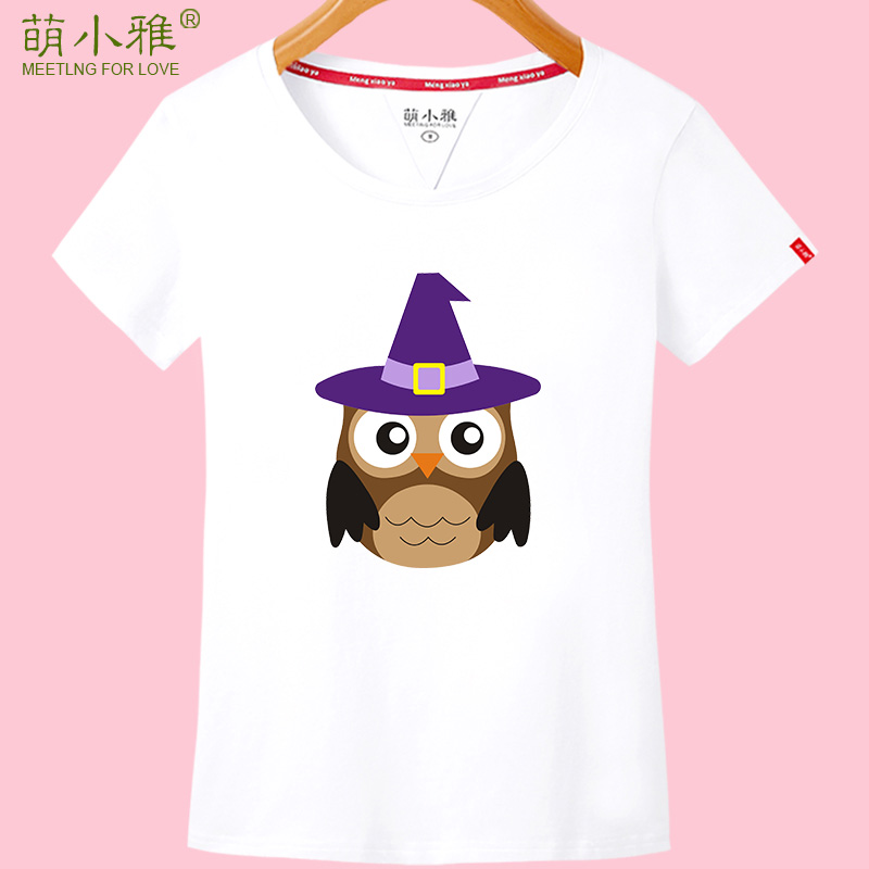 Meng xiaoya 2016 new spring and summer short sleeve t-shirt female korean slim was thin sleeve t-shirt summer short paragraph students