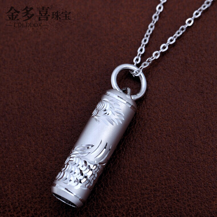 Men's platinum pt950 platinum pendant carved pendants zhu pt950 platinum pendant pendant necklace men