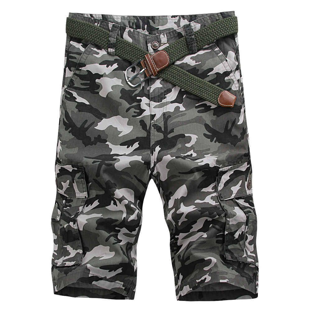 Men's shorts summer influx of 2016 new tooling bags of outdoor camouflage pants breeches pants five pants in men's casual pants loose