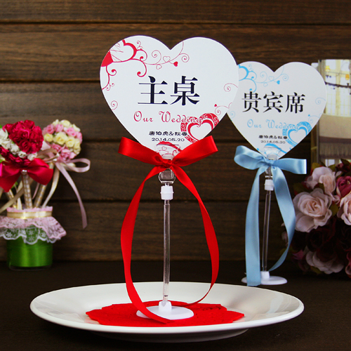 Met the love of creative wedding table cards spike seat table number card custom personalized custom wedding table place