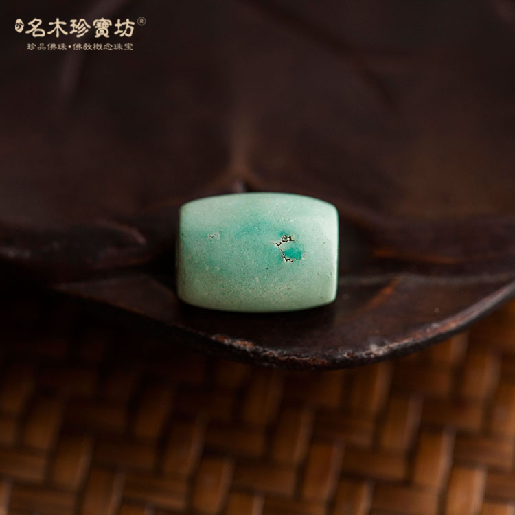 [Metropolis] natural ore gem blue material 10.5 * 14mm turquoise beads drum beads accessories
