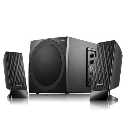 Microlab/microlab m300 (14) desktop computer audio 2.1 multimedia speaker subwoofer