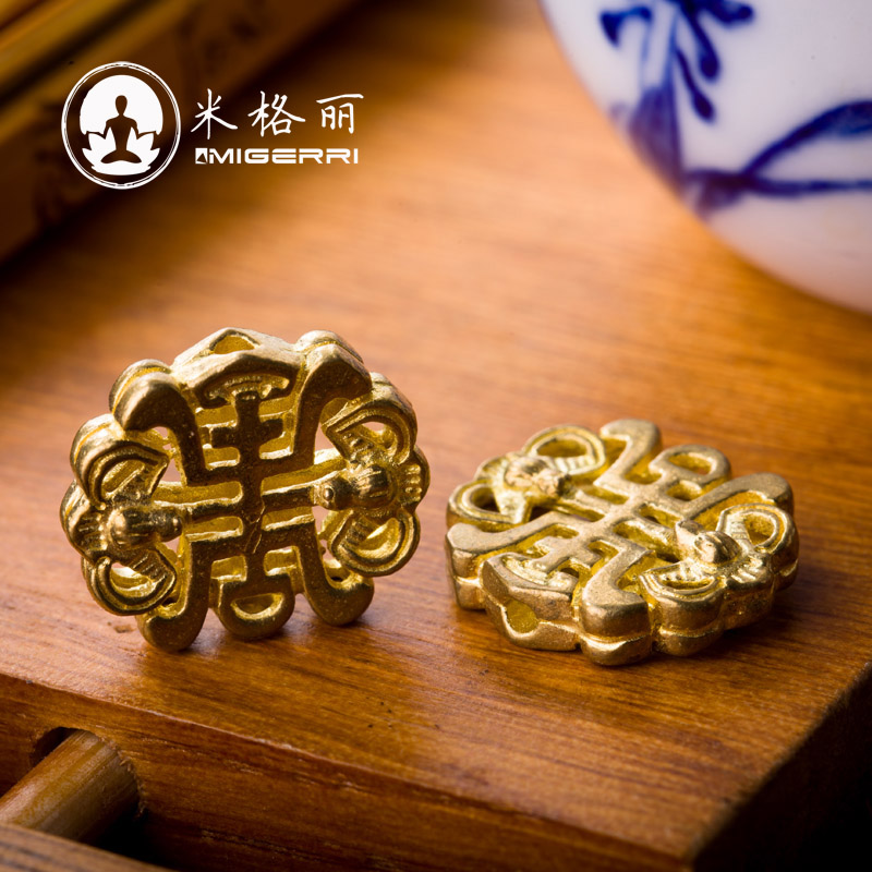Mig mayhidden liesl-brass back cloud pendant blessing in front of xingyue bodhi bracelets beads diy accessories accessories