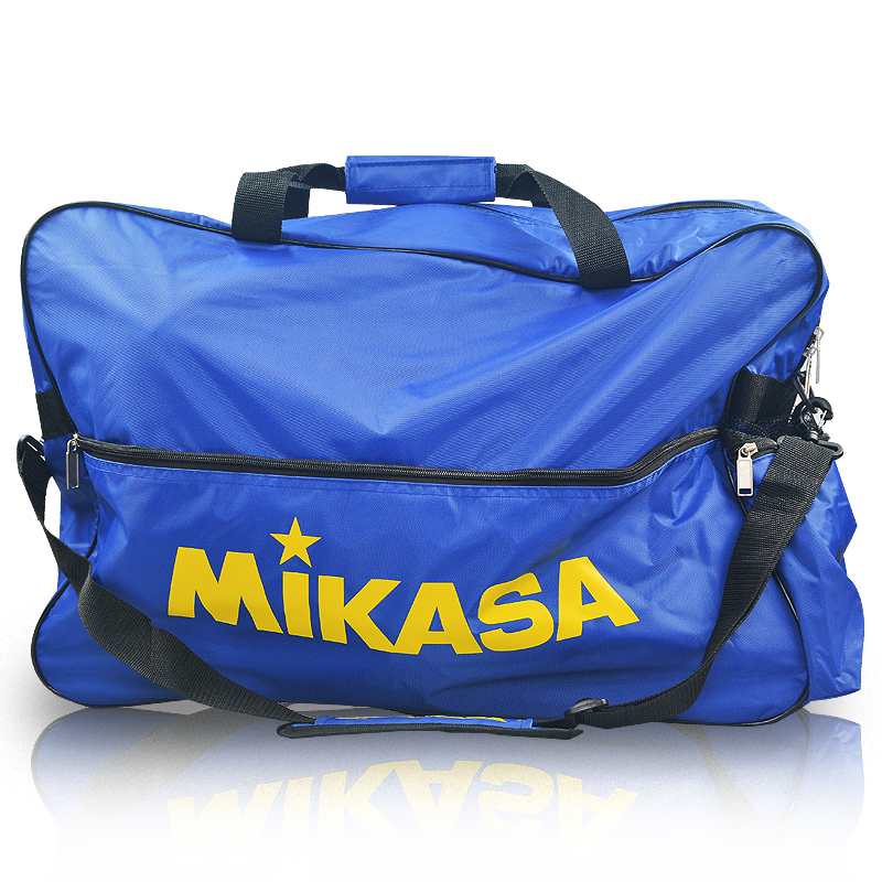 Mikasa/micasa volleyball volleyball ball bag shoulder bag loaded sixé¢blue black
